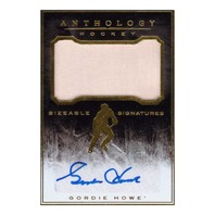 2014 Gordie Howe Panini Anthology Autograph Relic /125