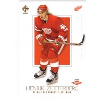 Henrik Zetterberg 2002/03 Pacific Private Stock Reserve #160 Rookie RC /99
