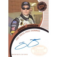 2007 Jimmie Johnson Press Pass Signings Autograph