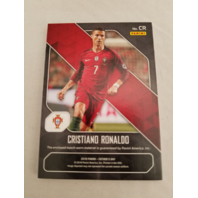 Cristiano Ronaldo 2018 Panini Father's Day Worn Memorabilia Cracked Ice Prizm/25
