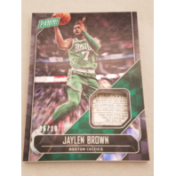 JAYLEN BROWN 2018 Panini Father's Day Worn Laundry Tag Checkerboard Prizm /10