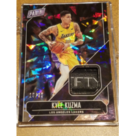 KYLE KUZMA 2018 Panini Father's Day Player Worn Memorabilia Cracked Ice Prizm/25