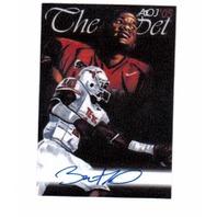 Vince Young 2005 AOJ Lithocard Signed Artist Sketch NFL Jonathan D. Gordon