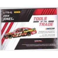 2017 Erik Jones Absolute Racing Tools of the Trade Relic /99