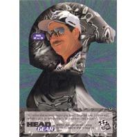 Dale Earnhardt 1996 Press Pass VIP Head Gear Card