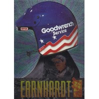 Dale Earnhardt 1996 Press Pass VIP Head Gear Card