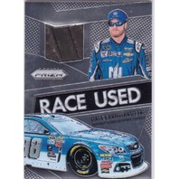 Dale Earnhardt Jr. 2016 Panini Prizm Race Used Tire Relic Card