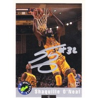 1992 Shaquille O'Neal Classic Games Rookie Autograph signed auto rc