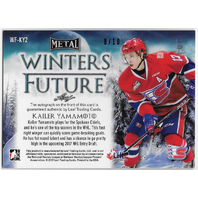 Kailer Yamamoto Auto - 2017 Leaf Metal Winters Future Prismatic Purple #8/10