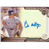 Don Mattingly 2016 Topps Tribute Autograph #TADM On-Card Auto /50 NY Yankees (x)