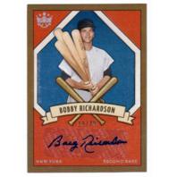Bobby Richardson 2019 Panini Diamond Kings Holofoil Prisms Silver Autograph /49