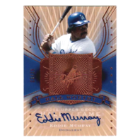 Eddie Murray 2005 Upper Deck Hall of Fame Worthy Autograph #EM2 auto /25 Dodgers