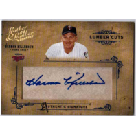 Harmon Killebrew 2004 Donruss Leather & Lumber Autograph Minnesota Twins /192