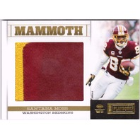 Santana Moss 2012 Panini Playbook Platinum Mammoth Jersey Patch Memorabilia /25  (x)