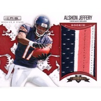 Alshon Jeffery 2012 Rookies & Stars Rookie Crusade Materials Purple #11 RC /49  (x)