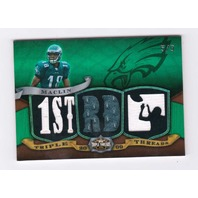 Jeremy Maclin 2009 Topps Triple Threads Emerald Rookie Prime Patch #TTR27 RC /9  (x)