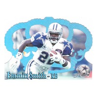 Emmitt Smith 1995 Crown Royale Holofoil Pacific Collection #125 Dallas Cowboys