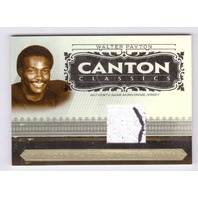 Walter Payton 2006 National Treasures Canton Classics Materials Prime Patch /25  (x)