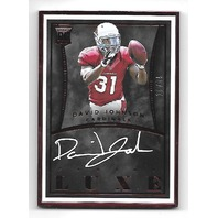 DAVID JOHNSON 2015 Panini Luxe Rookie Autograph Red Frame RC auto /75