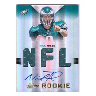 Nick Foles 2012 Absolute Rookie NFL Jersey Autograph Relic #224 Auto RC /299