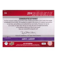 Jarvis Landry 2014 SPX Rookie Jersey Autograph #55 RC Relic auto LSU Tigers /425