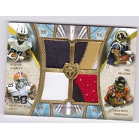 Bishop Sankey Tre Mason Terrance West Devonta Freeman 2014 Topps Supreme Quad/20  (x)