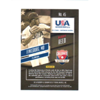 Buddy Reed 2015 Panini Contenders USA Baseball Ticket Autographs #45  (x)