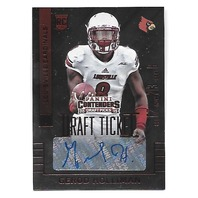 GEROD HOLLIMAN 2015 Panini Contenders Draft Picks Ticket Red Foil Autograph #189
