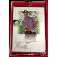 Tiger Woods 2001 Upper Deck SP Authentic Autograph Rookie #45 RC Auto Signed/900