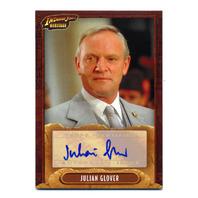 2008 Indiana Jones Heritage Autographs #NNO Julian Glover As Walter Donovan