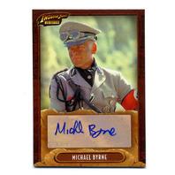 2008 Indiana Jones Heritage Autographs #NNO Michael Byrne As Vogel