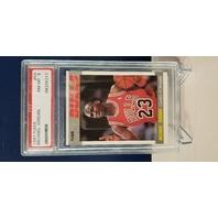 Michael Jordan 1987-88 Fleer #59 PSA Graded 8 NM-MT Chicago Bulls