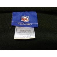 Reebok RBK NFL Pittsburgh Steelers Black Long Sleeve Fleece Shirt Sz XL Football