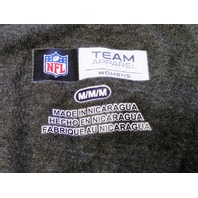 NFL Team Apparel Women's Pittsburgh Steelers Gray Yellow Shirt Size M Football