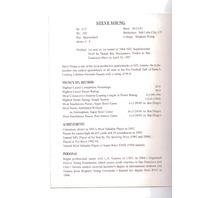 1995 Bernie Kosar Greeting Card Steve Young San Francisco 49ers Football NFL NOS