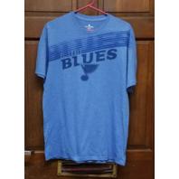 Levelwear Blue St. Louis Blues Graphic T-Shirt Men's Size L Large Hockey