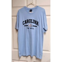 OVB Old Varsity Brand Blue Carolina Tar Heels Short Sleeve T-Shirt Sz XL NCAA