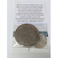 "Vanguard Northwest Territorial Mint THE TASK AHEAD Coin 1-3/4"""