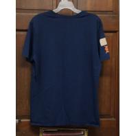 Nike Tee Athletic Cut Blue Detroit Tigers Graphic T-Shirt Men's Size XL Baseball