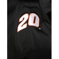 Wicked Quick Tony Stewart 20 Home Depot Joe Gibbs Black Orange Jacket XL NASCAR