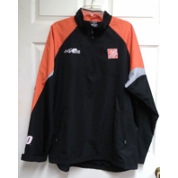 Wicked Quick Tony Stewart 20 Home Depot Joe Gibbs Black Orange Jacket XL NASCAR