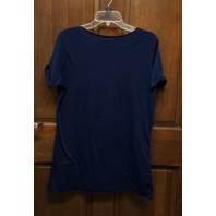 Majestic Minnesota Twins Loose Fit Navy Blue T-Shirt Womens Size XL MLB Baseball