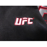 UFC Ultimate Fighting Championship Black Pullover Hoodie Size L MMA
