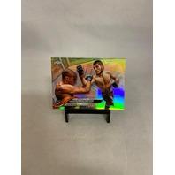 KHABIB NURMAGOMEDOV 2018 TOPPS CHROME REFRACTOR #15 UFC 219