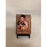 KHABIB NURMAGOMEDOV 2014 TOPPS UFC BLOODLINES METAL CARD /109 #MR-KN