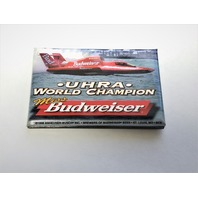 1998 Pin Miss Budweiser Champion UHRA Unlimited Hydroplane Racing Association