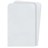 Ultra Pro Poly Sleeve Dividers (White)(50 Pack Case)