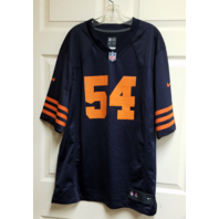 NFL Players On Field Chicago Bears Brian Urlacher #54 Jersey Men's Size L