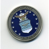 """USAF US Air Force Global Vigilance Reach And Power Challenge Coin 1.5"""""""