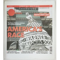 100th Indianapolis 500 America's Race USA Today Sports Special Edition Indy